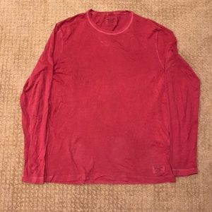 Abercrombie & Fitch Garment Dyed Longsleeve Tee